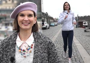 Meteoroložka Dagmar Honsová přiblížila, jak se dá hubnout díky větru.
