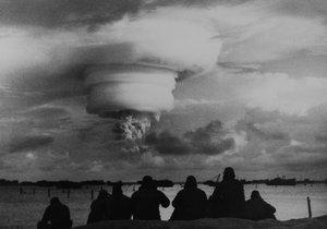 Jaderný test (ilustrační fotografie)