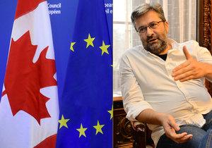 """Zaplaví Česko chlorovaná kuřata z Kanady? """"Nesmysl,"""" brání dohodu CETA náměstek"""
