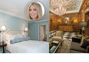 Ivanka Trump se přestěhovala do Washingtonu, aby »píchla« s prezidentováním otci Donaldovi. Její byt na Manhattanu je tak na prodej!