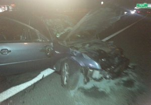 Za volantem autu seděl opilý řidič, kterému policisté v dechu naměřili 2,66 promile.