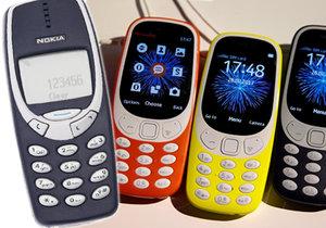 Nokia vrátila na trh model 3310 v moderní podobě.