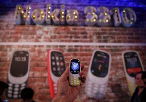 Novodobý pokračovatel legendárního telefonu  značky Nokia.
