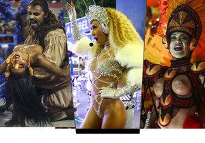 Karneval v Riu de Janeiru 2017
