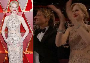 Nicol Kidman schytala kritiku za podivný styl tleskání.