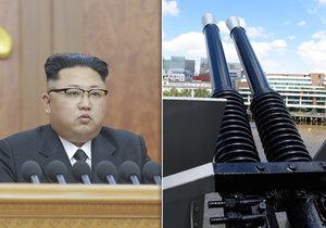 Severokorejský vůdce podle špiónů ze strany jižních sousedů popravil pětici vysoce postavených bezpečnostních činitelů. Zabít je nechal protiletadlovými děly.
