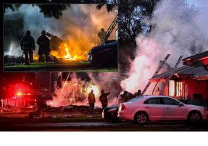 V Kalifornii se zřítilo letadlo na obytné domy ve městě Riverside, poblíž Los Angeles. Na místě jsou mrtví, jedna přeživší a ostatní se pohřešují.