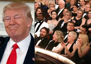 Trump o oscarové ostudě: Moc se soustředili na politiku. Bylo to smutné.