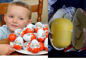 Proč je vnitřek kinder vajíčka žlutý?