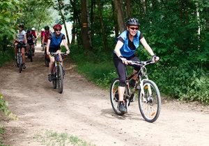 Cyklisté se dočkají nové stezky z Plzně do Brd. Ilustrační foto.