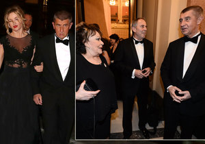 Ministr financí Andrej Babiš chtěl na Lvy dorazit limuzínou. Jenže nakonec musel i s partnerkou Monikou pěšky!