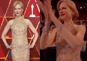 Nicole Kidman vysvětlila své lachtaní tleskání.