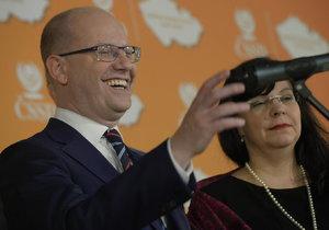 Jsme připraveni na volební boj, tvrdí staronový předseda ČSSD