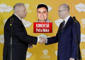 Petr Holec komentuje sjezd ČSSD.