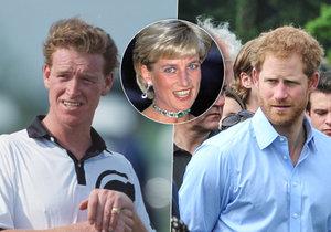 Milenec Lady Diany je podezřele podobný princi Harrymu. Je jeho skutečným otcem?