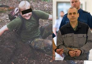 Za vraždu v Klánovickém lese dostal recidivista 25 let: Soudkyni žádal o doživotí.
