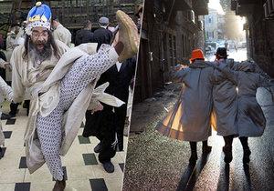 Oslavy nejveselejšího židovského svátku Purim