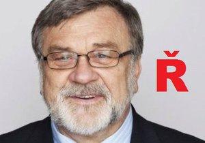 Evropská unie chce zrušit písmeno Ř, plašil senátor Jaroslav Doubrava.