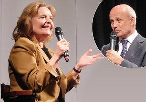 Magda Vášáryová vystoupila na debatě svolané Michalem Horáčkem.