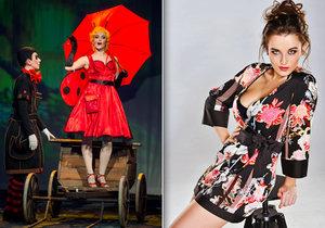 Jako nápadnice Ferdy Mravence Beruška září v novém muzikálu sexy Kateřina Herčíková.