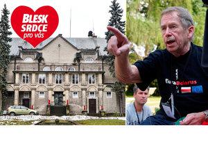 Vila z Havlova Odcházení: Exprezident tu měl i svůj pokoj