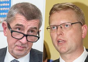 Andrej Babiš (ANO) reagoval na kritiku ze strany Pavla Bělobrádka (KDU-ČSL)