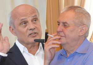 Michal Horáček si rýpl do Miloše Zemana: Kvůli jeho poradcům na Hradě.