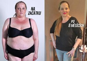 Marcela zhubla neuvěřitelných 52 kilogramů!