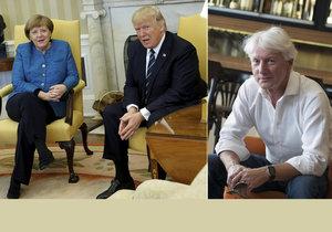 Ladislav Špaček zhodnotil chování Donalda Trumpa k německé kancléřce Merkelové. Nepodání ruky bylo zbytečné gesto chladu.