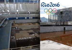 Olympijský park v Riu de Janeiro půl roku po konci her