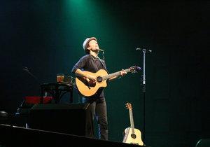 Jason Mraz zazpíval své písně v Praze po šesti letech