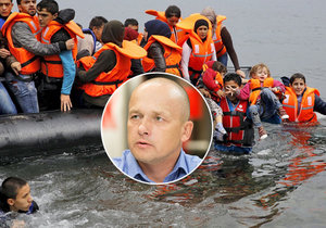 Lumír Němec varuje před ustupování radikálnímu islámu a Frontex má za cestovní kancelář.