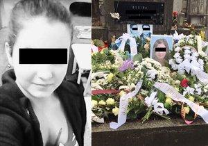 Kristýnku (†14) její rodina pohřbila týden po sebevraždě.