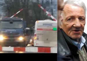 Vezl 40 dětí a vjel s autobusem na přejezd, kde kolem něho profrčel vlak: Trestný čin to není!