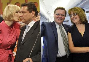Zdeněk Škromach a Jiří Paroubek. Vrátí se zpět do vysoké politiky?