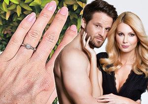 Sandra Parmová se nedávno zasnoubila, teď je dokonce v jiném stavu.