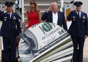 Trump se daňovým poplatníkům poněkud prodraží..