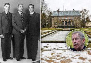 Majitelé vily z Havlova Odcházení: Byli bohatí jako Babiš, navštěvoval je Masaryk