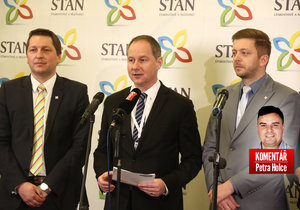 STAN chce do voleb s lidovci.