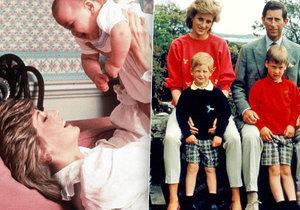 Princezna Diana pohřbila dítě na zahradě Kensingtonského paláce.
