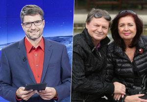 Rodiče moderátora Michala Jančaříka (41): Ztrácíme naději