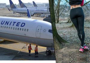 Dvě náctileté dívky nemohly v neděli nasednout do letadla, protože jejich legíny prý nejsou vhodné oblečení. (ilustrační foto)