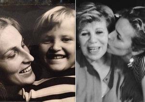 Tereza Maxová a Eva Herzigová zveřejnily fotky se svými maminkami.
