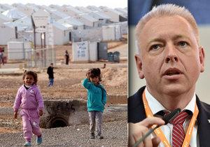 Ministerstvo vnitra pod vedením Milana Chovance chce letos opět pomoci uprchlíkům v Jordánsku.
