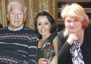 Věra Špinarová a první manžel: Nenávist se proměnila v lásku.