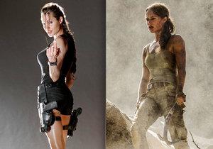 V roli Lary Croft vystřídá Angelinu Alicia Vikander.