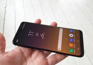 Nový chytrý telefon Samsung Galaxy S8.