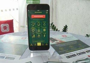 Aplikaci Záchranka si lidé stahují do chytrých telefonů.
