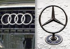 Čínské Audi a Mercedesy míří do servisu, tíží je přehřívání i problémy s airbagy