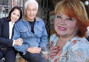 Bývalý manžel Věry Špinarové Ivo Pavlík se bál ji navštívit v nemocnici. Místo toho posílal svou ženu Heidi.